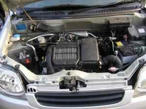 スズキ kei K6A エンジン 乗せ替え ターボ シリンダーブロック