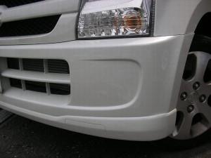 ワゴンR バンパー修理