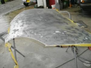 vits22 錆 修理 ボンネット 塗装 脱着