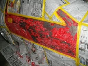RXー7 中古 エアロ 取付 塗装剥離 剥離剤 マツダ ヤフオク