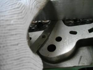 ヘッド面研 シクネスゲージ ストレートエッジ 歪み エンジン シリンダーヘッド