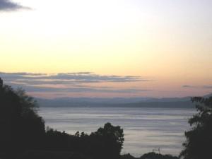 トネオートからの眺め別府湾