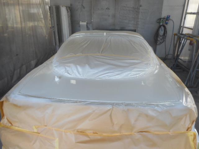 ホワイト塗装 2コート